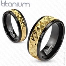 Титановые парные кольца Spikes