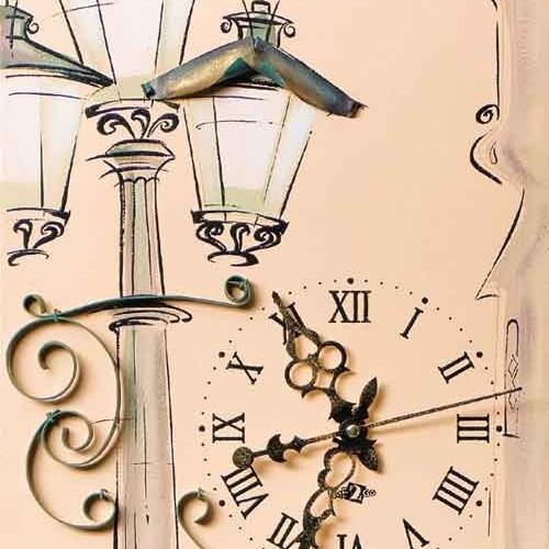Настенные часы  «Фонарь»