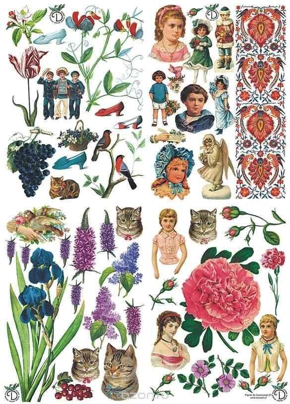 Бумага для декупажа Craft Premier Ботаника-3