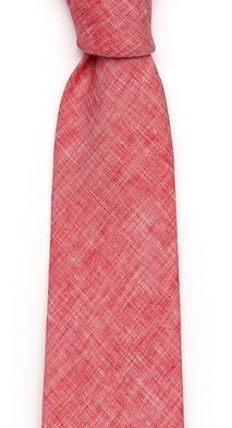 Алый галстук Fumagalli из льна
