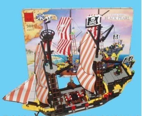 Конструктор Пиратский корабль