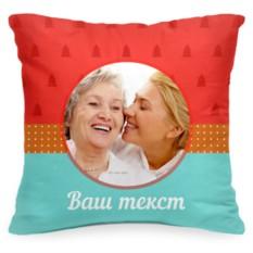 Подушка с фото «Рождественское печенье»