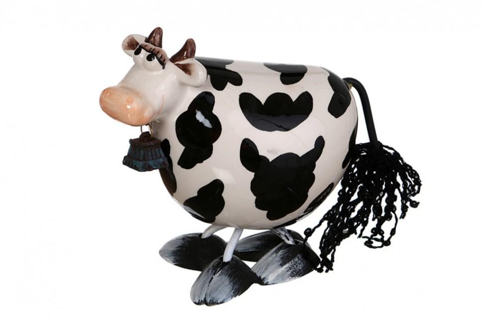 Статуэтка с качающейся головой Корова