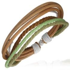 Мужской плетеный браслет Fashion Steel