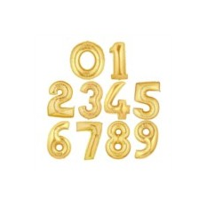 Гелевые шары-цифры