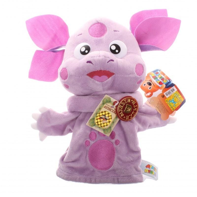 Перчаточная игрушка (кукольный театр) Лунтик, 25 см