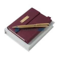 Набор Nina Ricci: дизайнерский блокнот, шариковая ручка