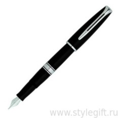 Перьевая ручка Waterman Charleston Black/CT