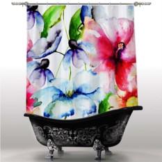 Шторка для ванны Краски