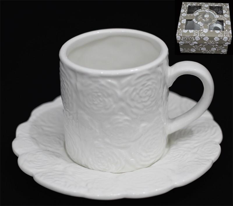 Чашка с блюдцем Долина роз