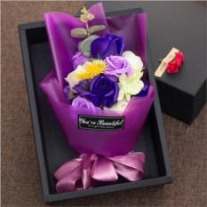 Подарочный набор цветов из мыла «Букет»