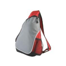 Красный треугольный рюкзак