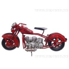 Модель мотоцикла красного цвета (18,5 см)