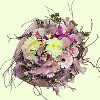 Букет цветов «Коралл»