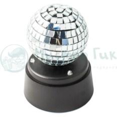 Зеркальный USB диско-шар