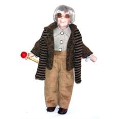 Фарфоровая кукла Леопольд, высота 41 см
