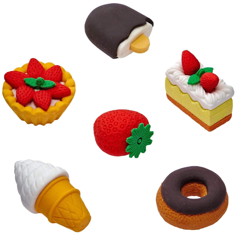 Набор ластиков «Пирожные»