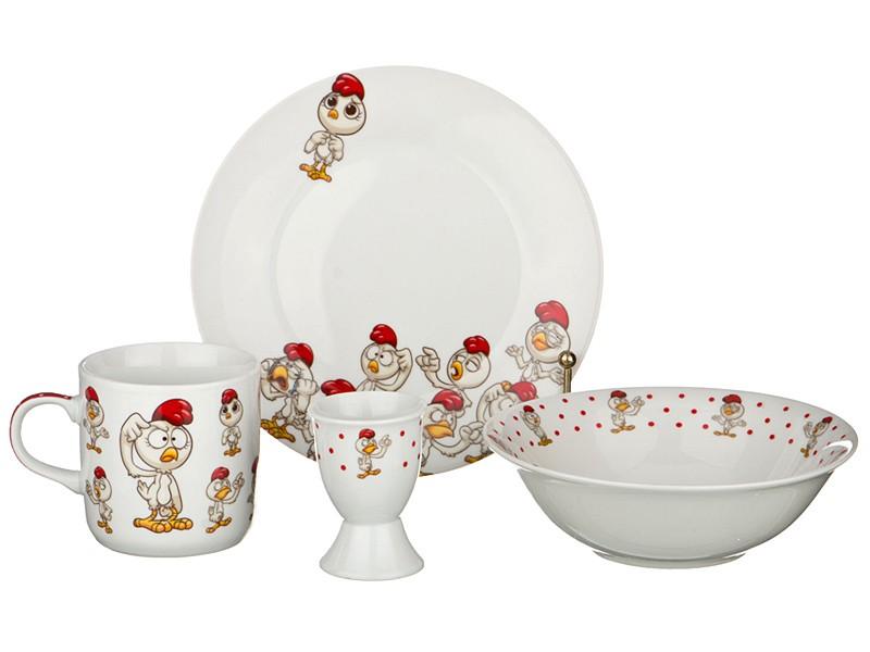 Набор посуды на одну персону Петух