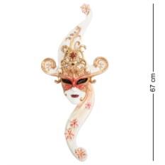 Венецианская маска Лотос (цвет — белый)