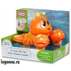 Игрушка Клацающий лобстер на веревочке (Little Tikes)