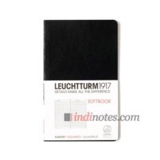 Записная книжка Pocket Jottbook Black от Leuchtturm1917