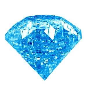 3D головоломка Бриллиант синий