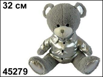 Мягкая игрушка с чистоговорками Мишка Серебряные ушки