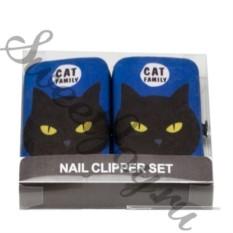 Маникюрный набор Cat Family Deep Blue