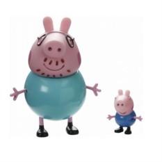 Игровой набор «Папа Свин и Джордж», Peppa Pig
