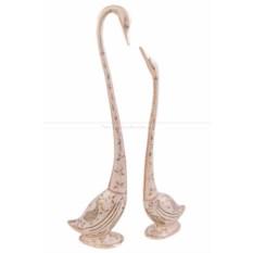 Две статуэтки Лебеди