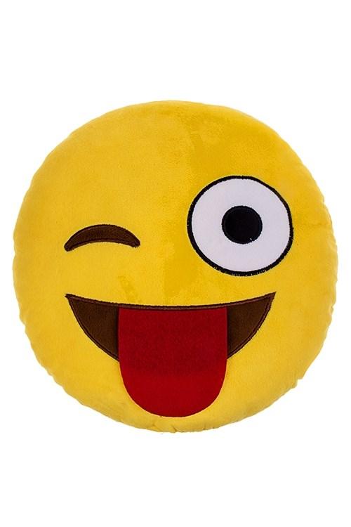 Мягкая игрушка-подушка Игривый смайлик