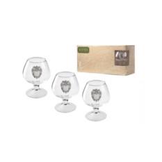 Подарочный набор бокалов для коньяка ФСО