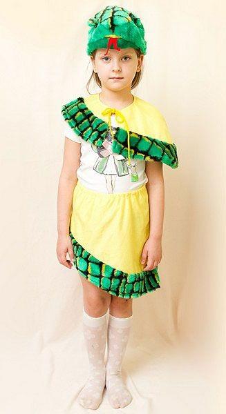 Карнавальный костюм Питон (девочка), 3-7 лет