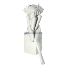 Фарфоровая статуэтка знака зодиака Телец - женщина