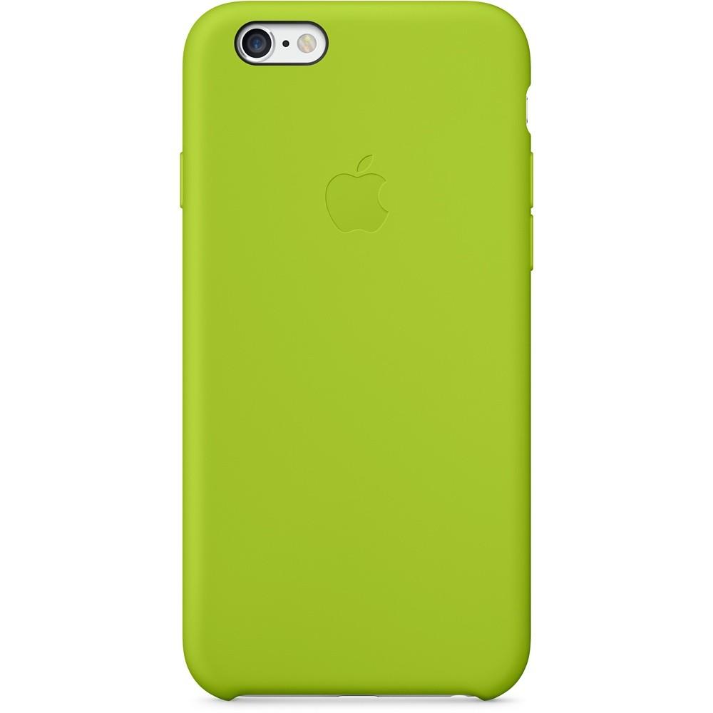 Зеленый силиконовый чехол для Apple iPhone 6