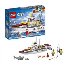 Конструктор Lego City Рыболовный катер