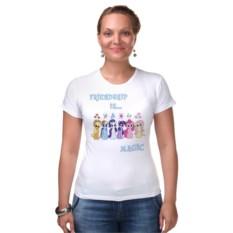 Женская футболка Friendship is magic