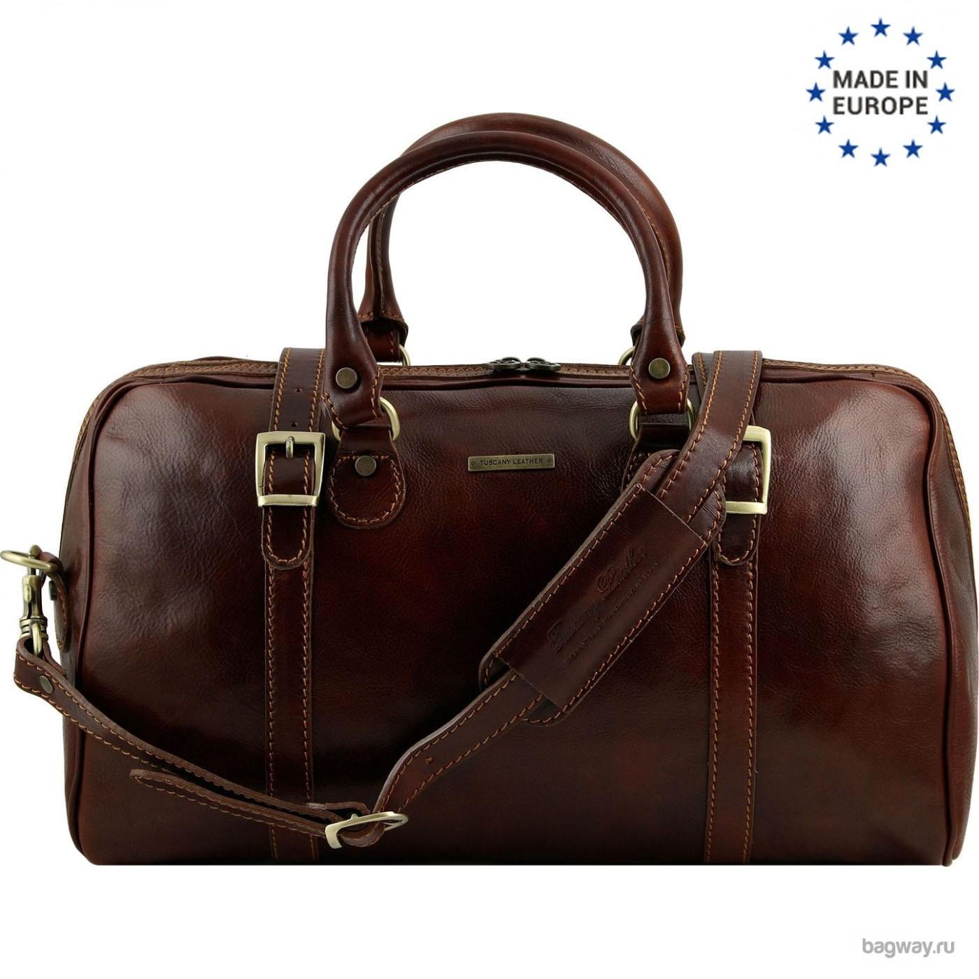 37925243eb0c Кожаная дорожная сумка Travel от Tuscany Leather | Дорожные сумки