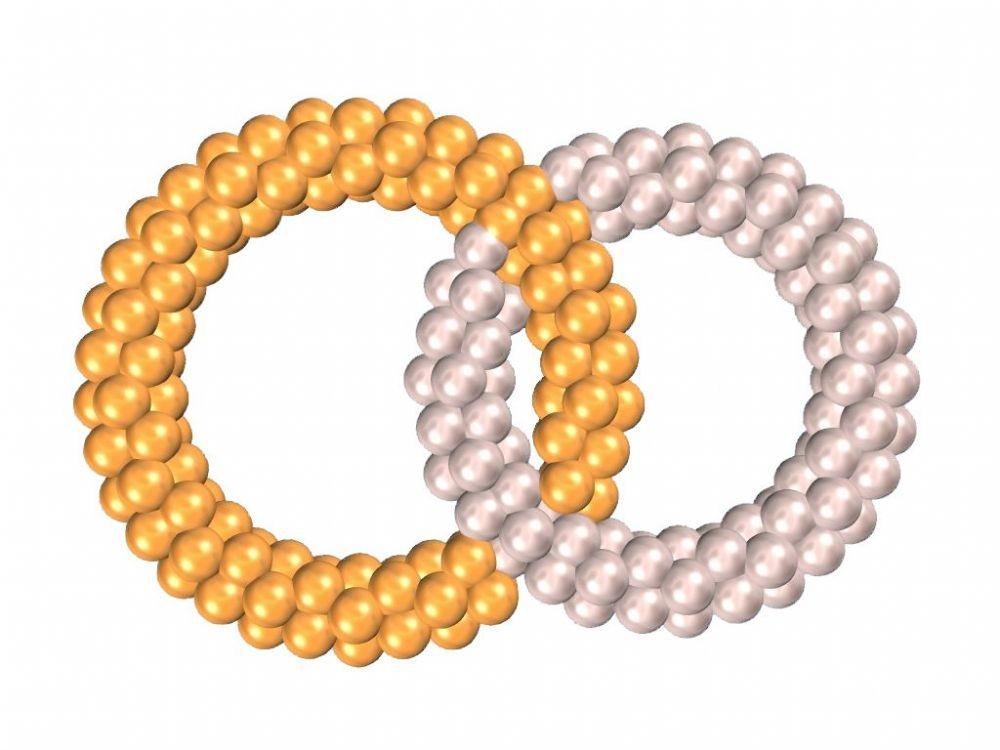 Обручальные кольца из шаров