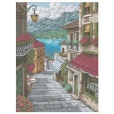 Картина-раскраска Улица к морю