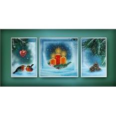 Картина Swarovski Зима