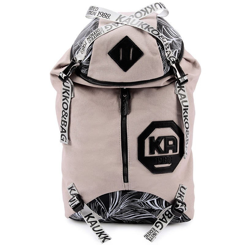 Вместительный серый рюкзак