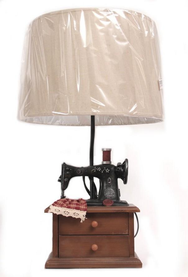 Настольная лампа «Швейная машинка»