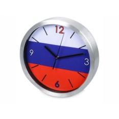Настенные часы Российский флаг
