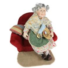 Кукла коллекционная Бабушка, фарфор
