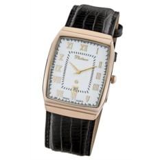 Мужские наручные кварцевые часы Байкал 55350.521 с золотом