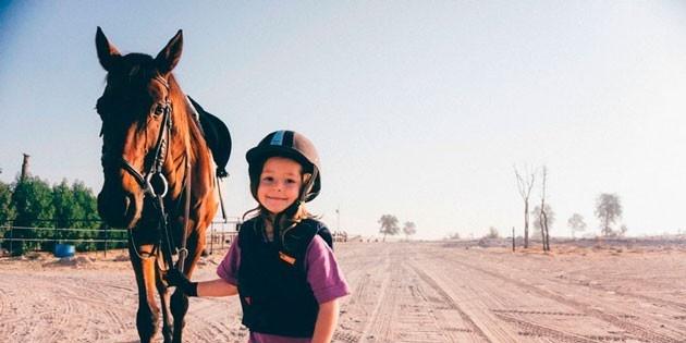 Конные прогулки для детей, 1 час, выходные дни