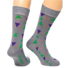 Серые носки Triangle Friday