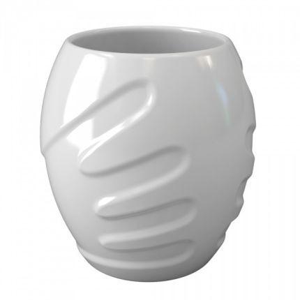 Белая кружка с двойными стенками Hug a mug