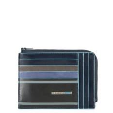 Цветной чехол для кредитных карт Piquadro Blue Square